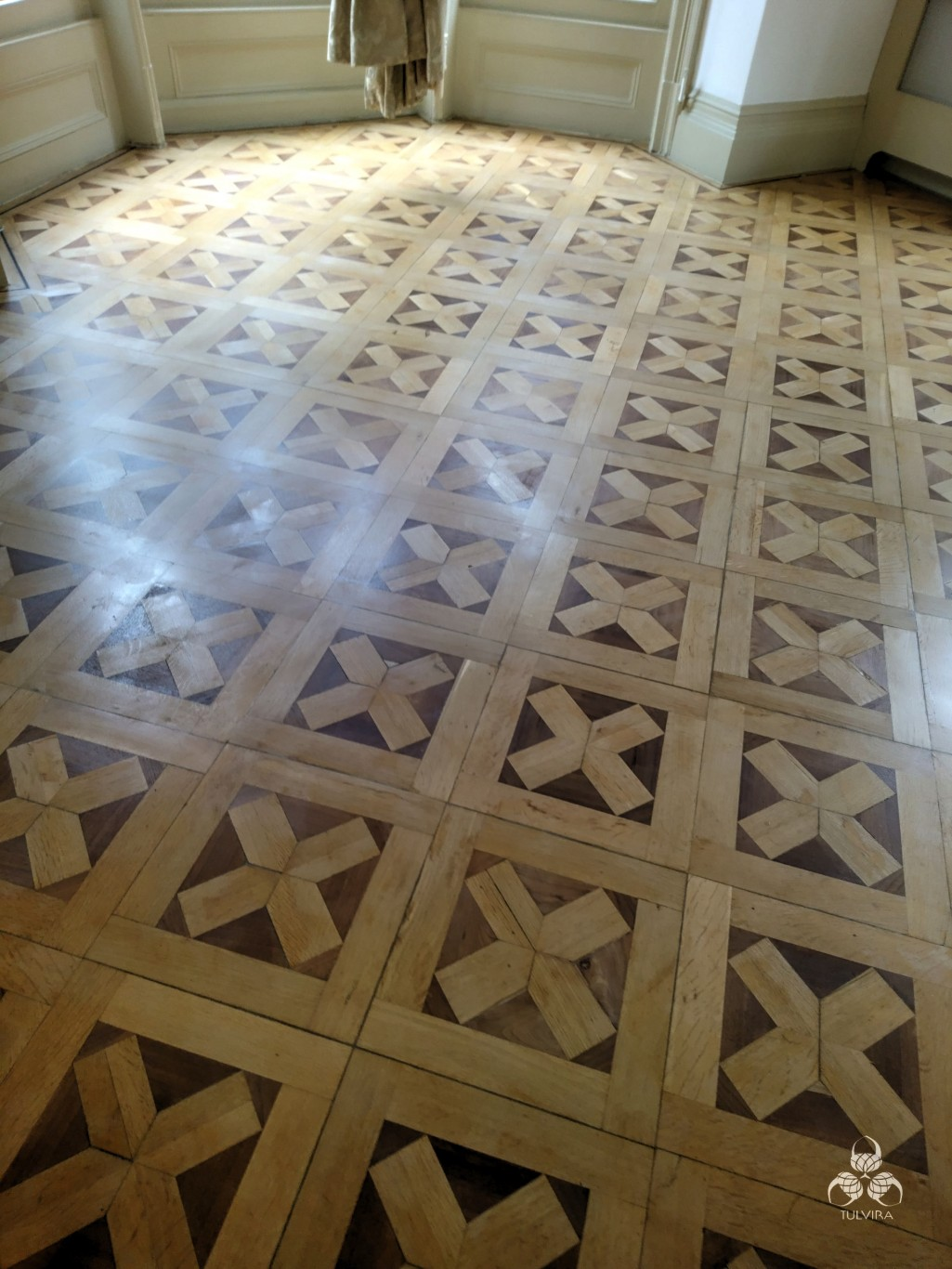 Old parquet restauration